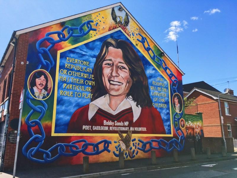 Murale Bobby Sands