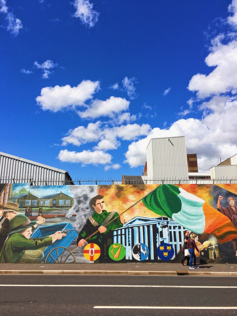 Mur international de Belfast