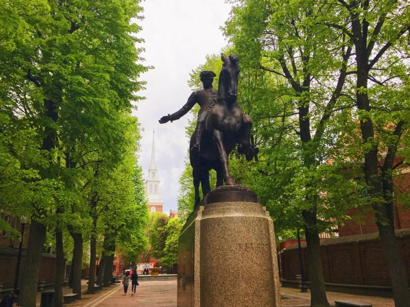 Statue de Paul Revere