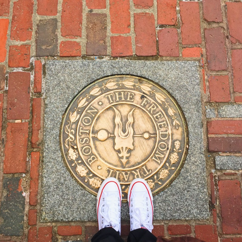 La Freedom Trail à Boston