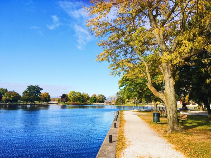 Canal Rideau à Smiths Falls