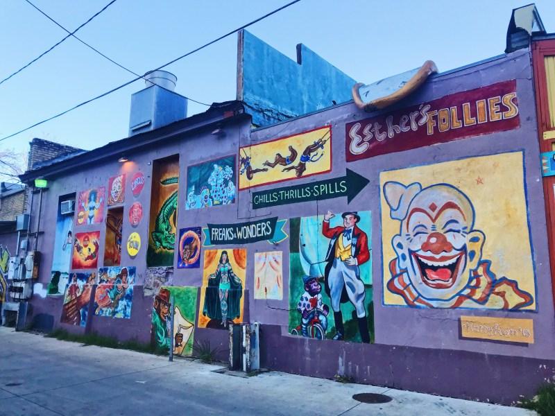 Murales à Austin