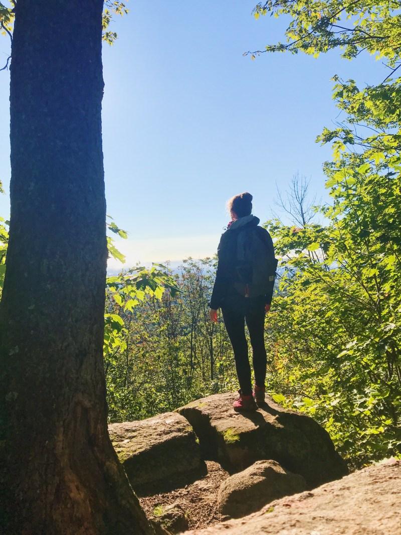 Gatineau Park lookout