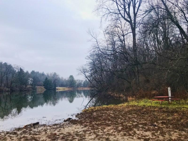 Plage à l'aire de conservation Lyn Valley