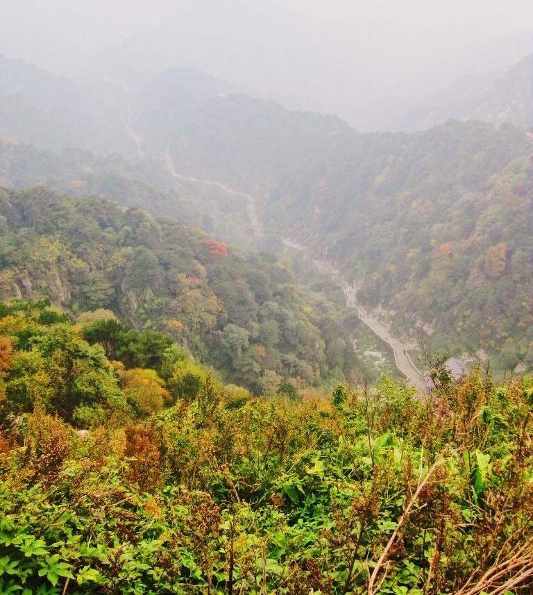 Sentier principal sur Taishan