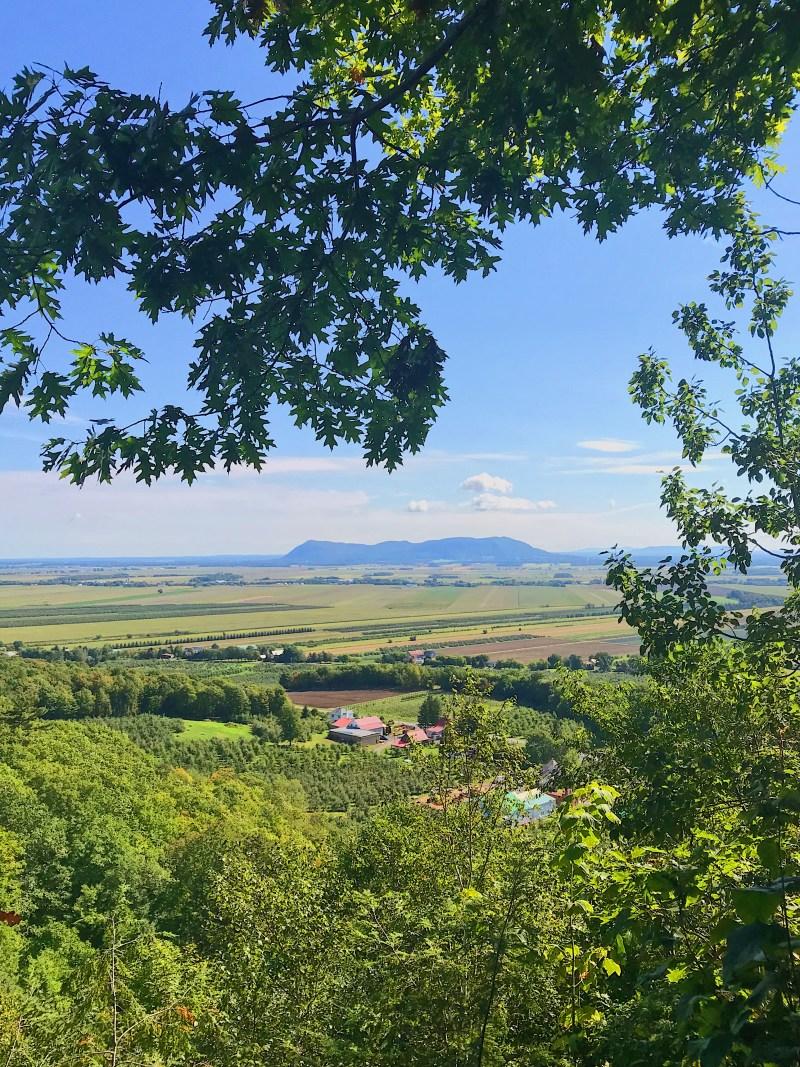 Mont Saint-Hillaire en Montérégie