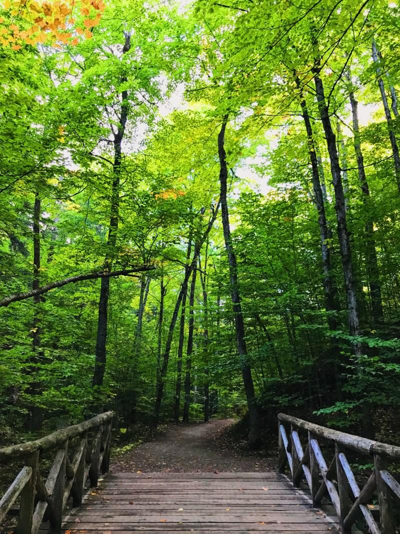 Sentier de la Chute et Lauriault, parc de la Gatineau