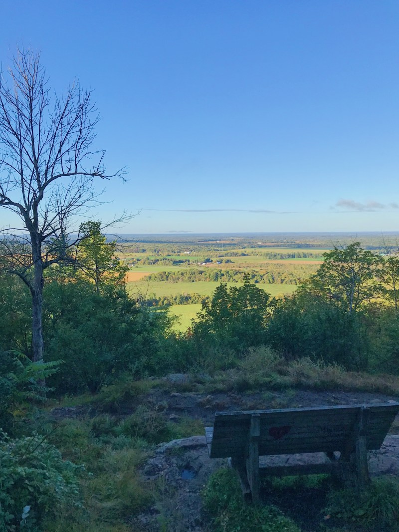 Lookout of Lauriault Trail