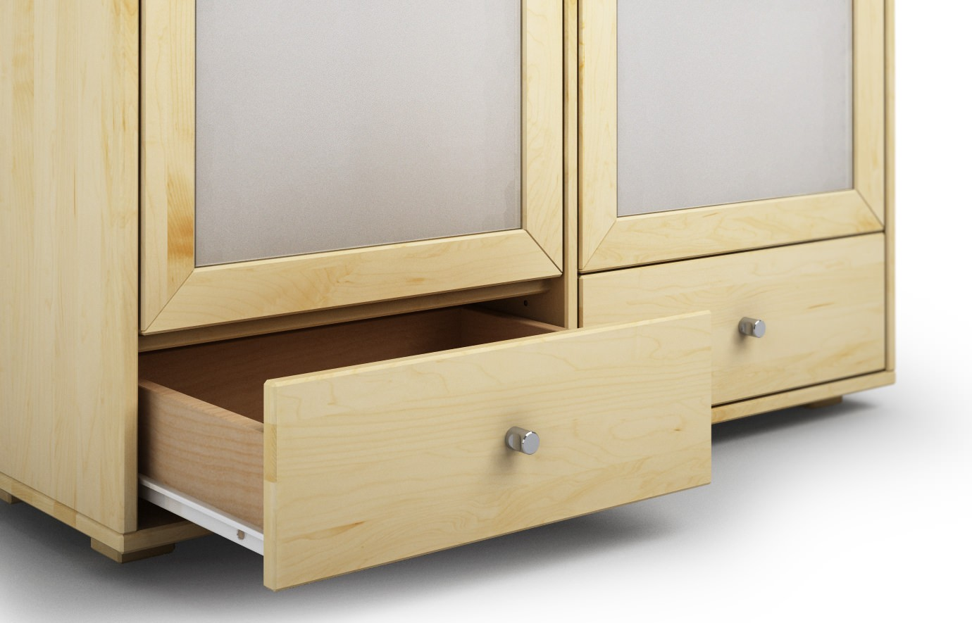 Highboard Ahorn Cavadore Design Sideboard Swing 01 Moderne Kommode