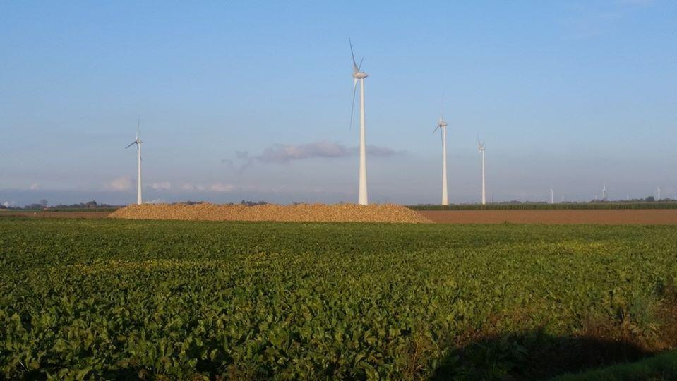 Des éoliennes autour de Roye