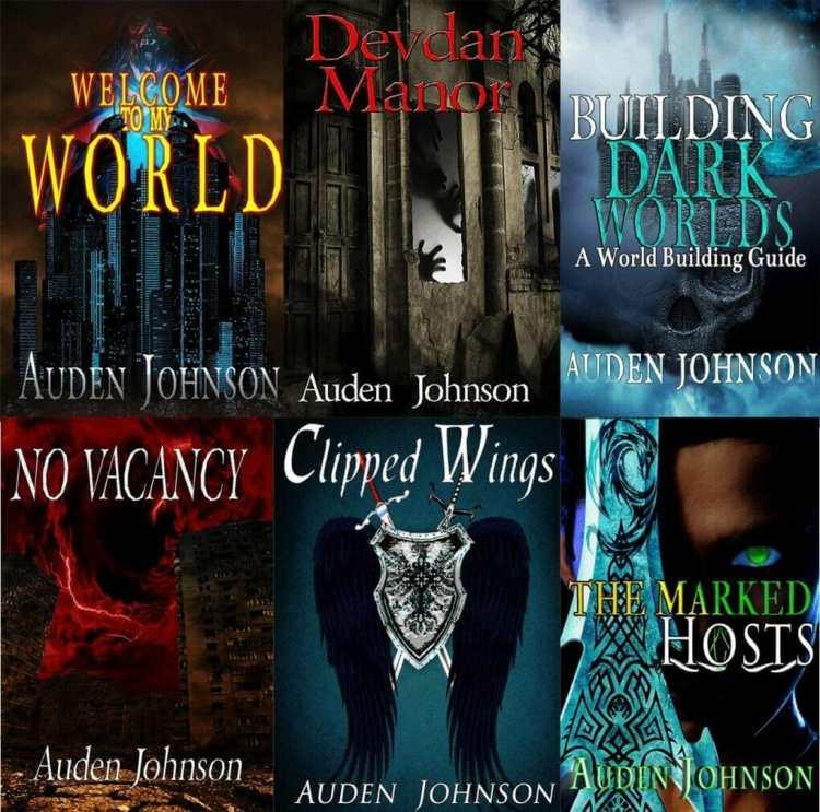 black dark fantasy author