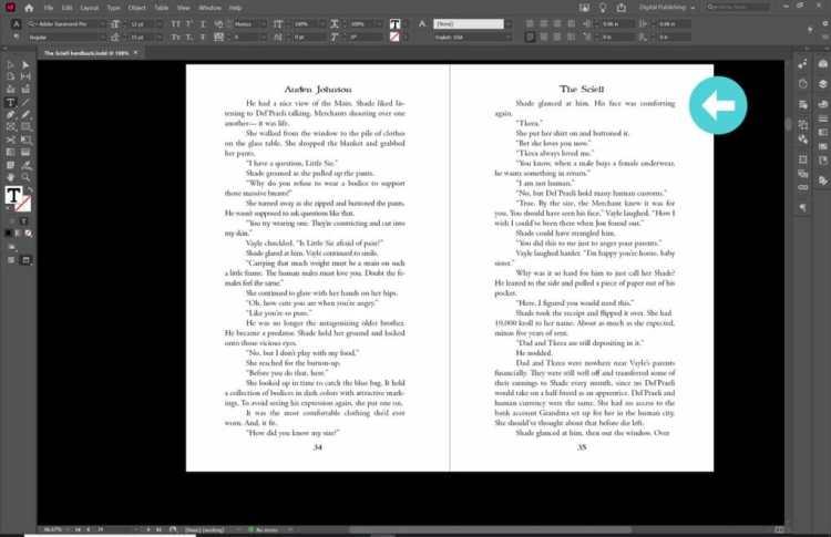 Book Formatting tips word spacing