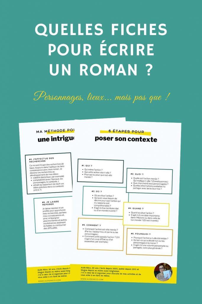 Idée De Roman à écrire : idée, roman, écrire, Quelles, Fiches, Roman, Réco