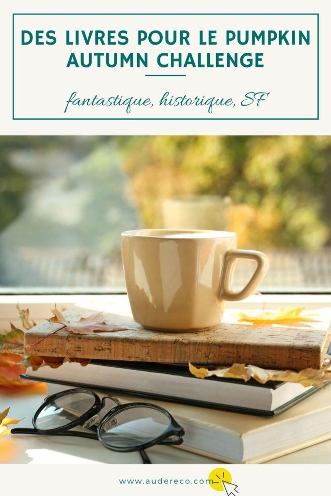Des livres pour le Pumpkin Autumn Challenge (1/2)