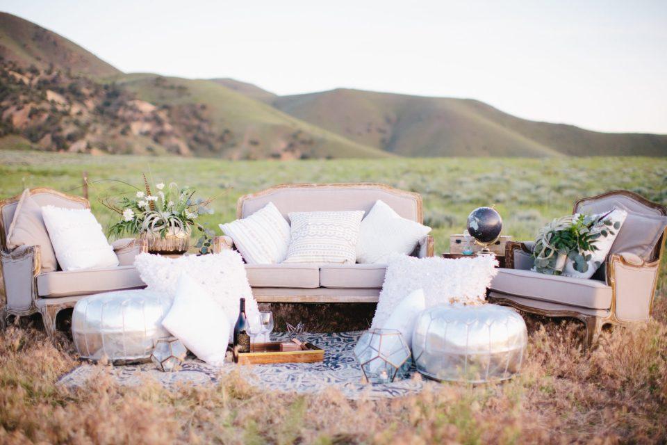 Artfully Wed Bohemian Desert Whites | Audere Events | Lake Tahoe Wedding Planner
