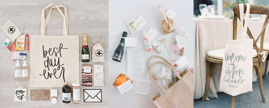 How to Create the Best Welcome Bag for Your Tahoe Wedding | Audere Events | Lake Tahoe Wedding Planner