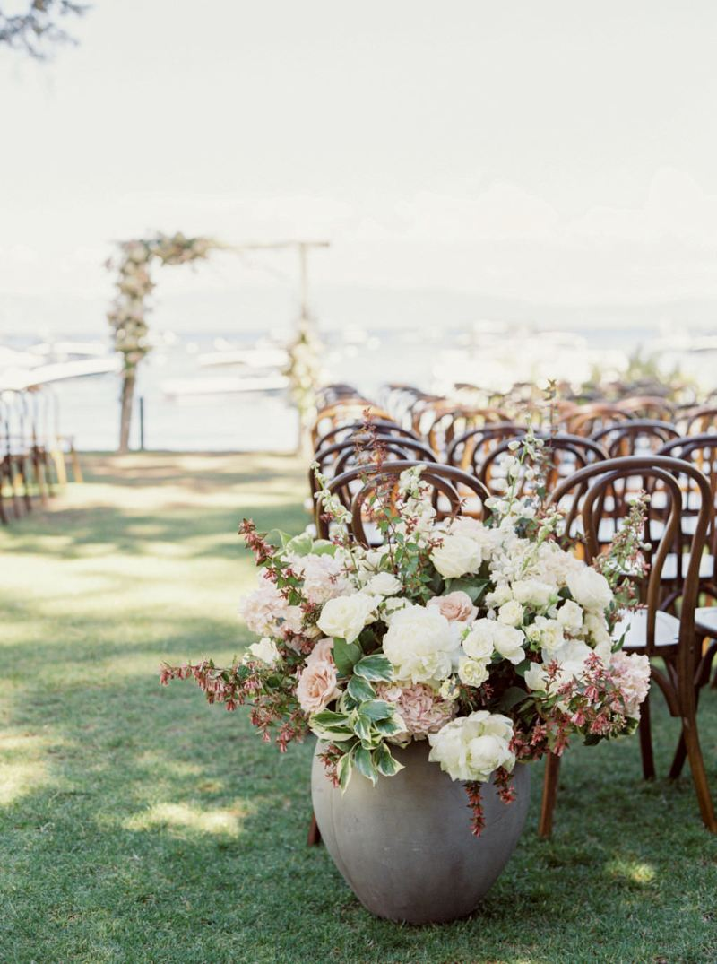 Romantic Lakeside Wedding