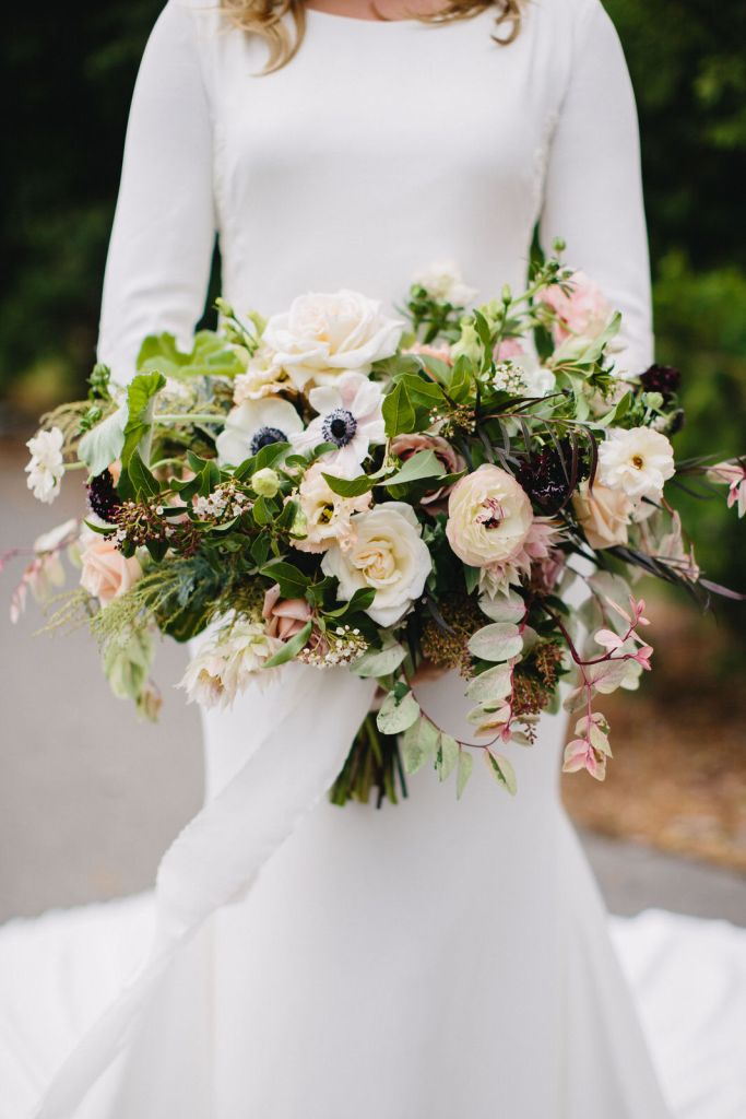 Whimsical & Moody Lakeside Wedding