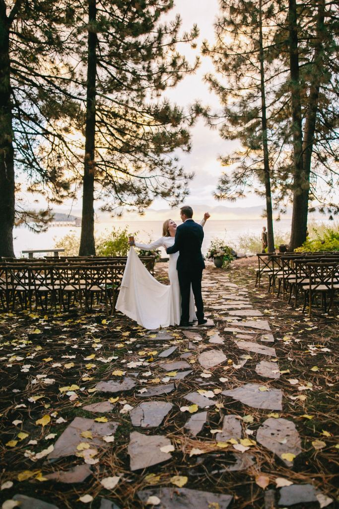Whimsical & Moody Lakeside Wedding