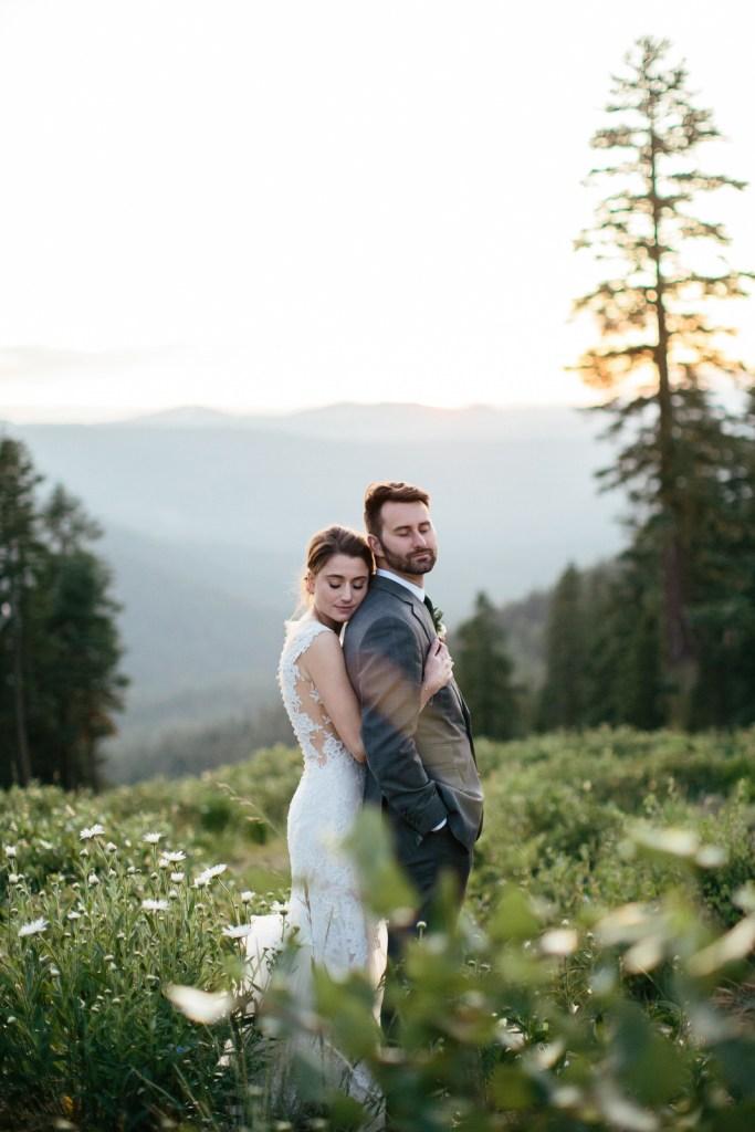 Rustic Industrial Mountain Top Wedding