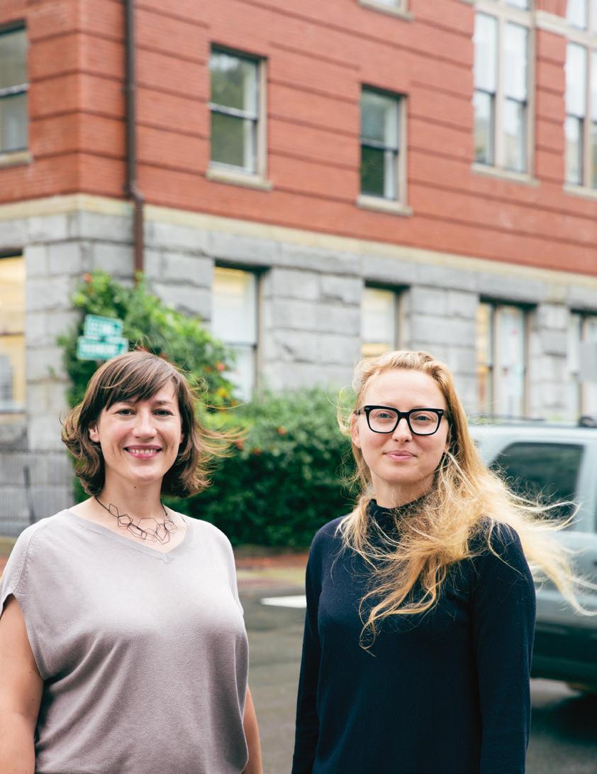 Aus dem Labor in die Wirtschaft: Zwei der Gründerinnen von Soofa, Jutta Friedrichs und Sandra Richter, haben den Sprung in die Start-up-Szene bereits geschafft.