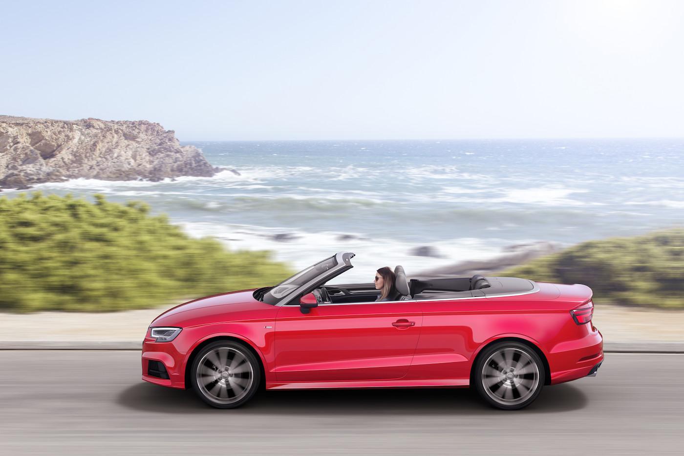 Perfetta per l'estate: l'offerta di Mobility prevede anche delle Audi A3 Cabrio. (Audi)