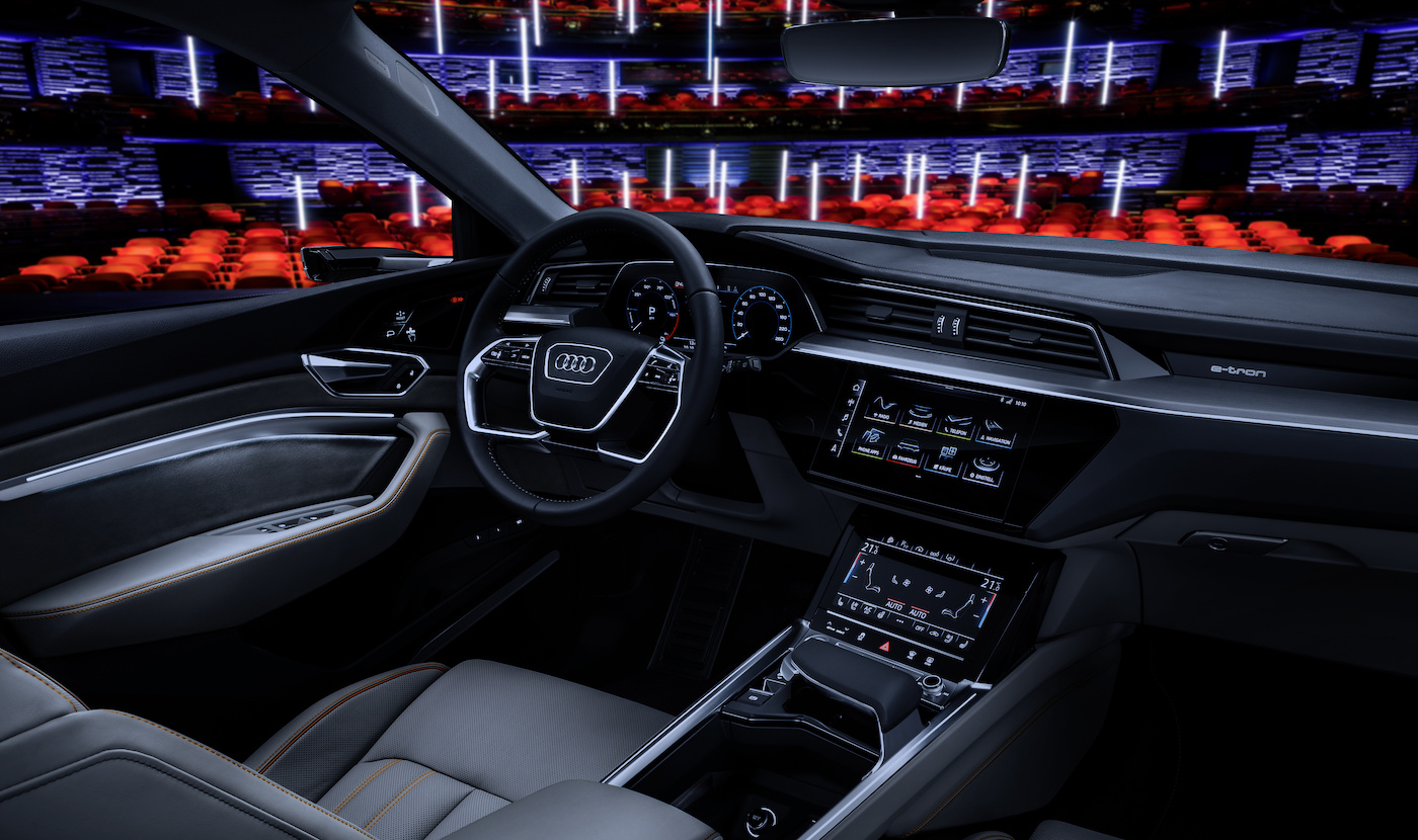 Il posto di guida del Prototipo. (Audi)