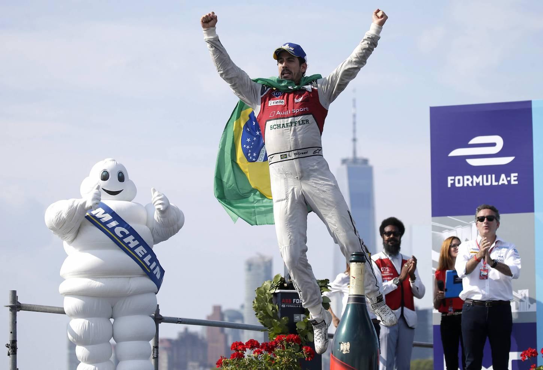 Beim ersten New-York-Rennen am Samstag fuhr Luca di Grassi auf den ersten Platz. (Imago)