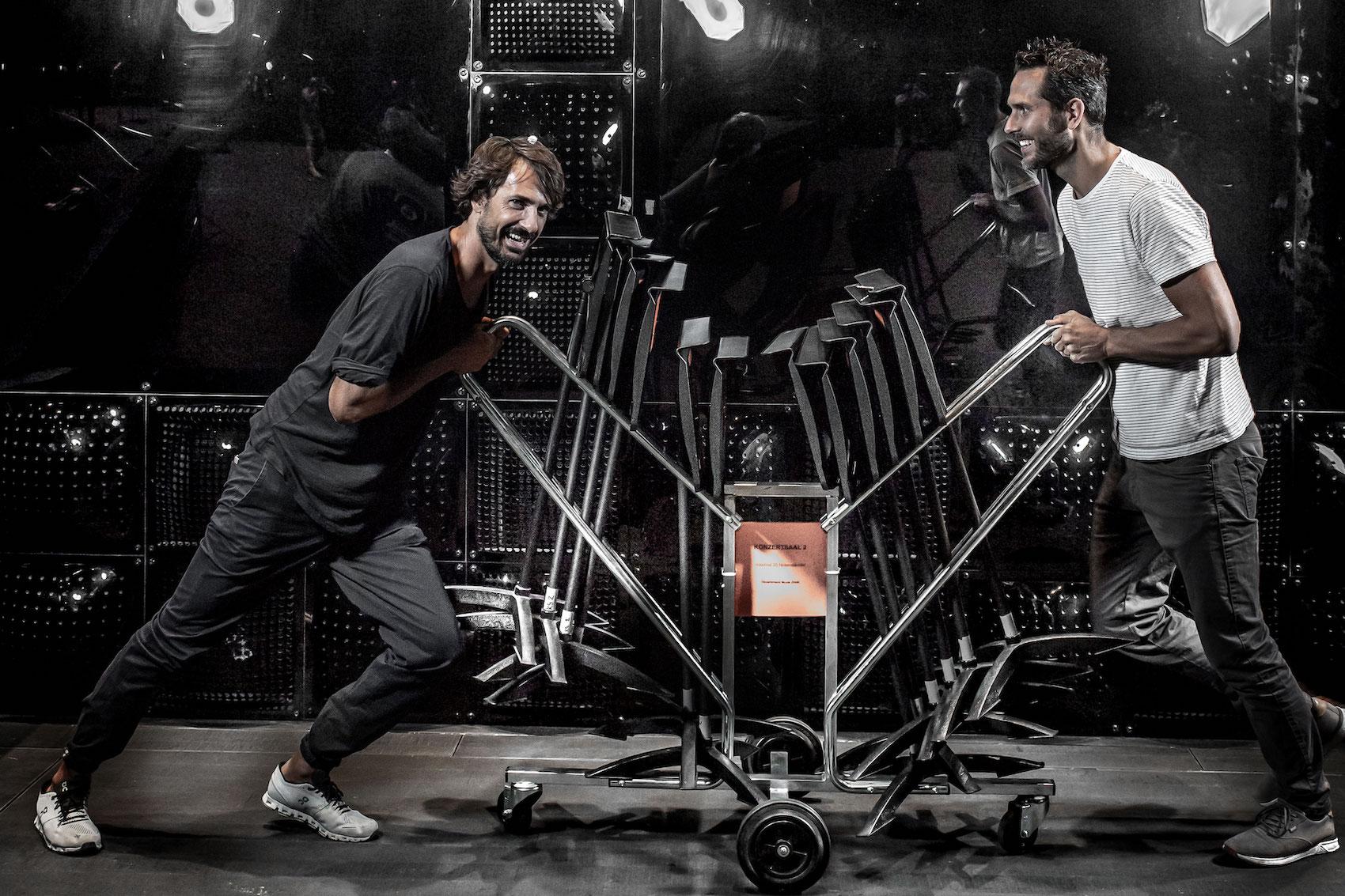 Der On-Mitgründer Caspar Coppetti (links) und der Digitec-Galaxus-Co-Founder Florian Teuteberg sind höchst erfolgreiche Unternehmer der digitalen Ära.