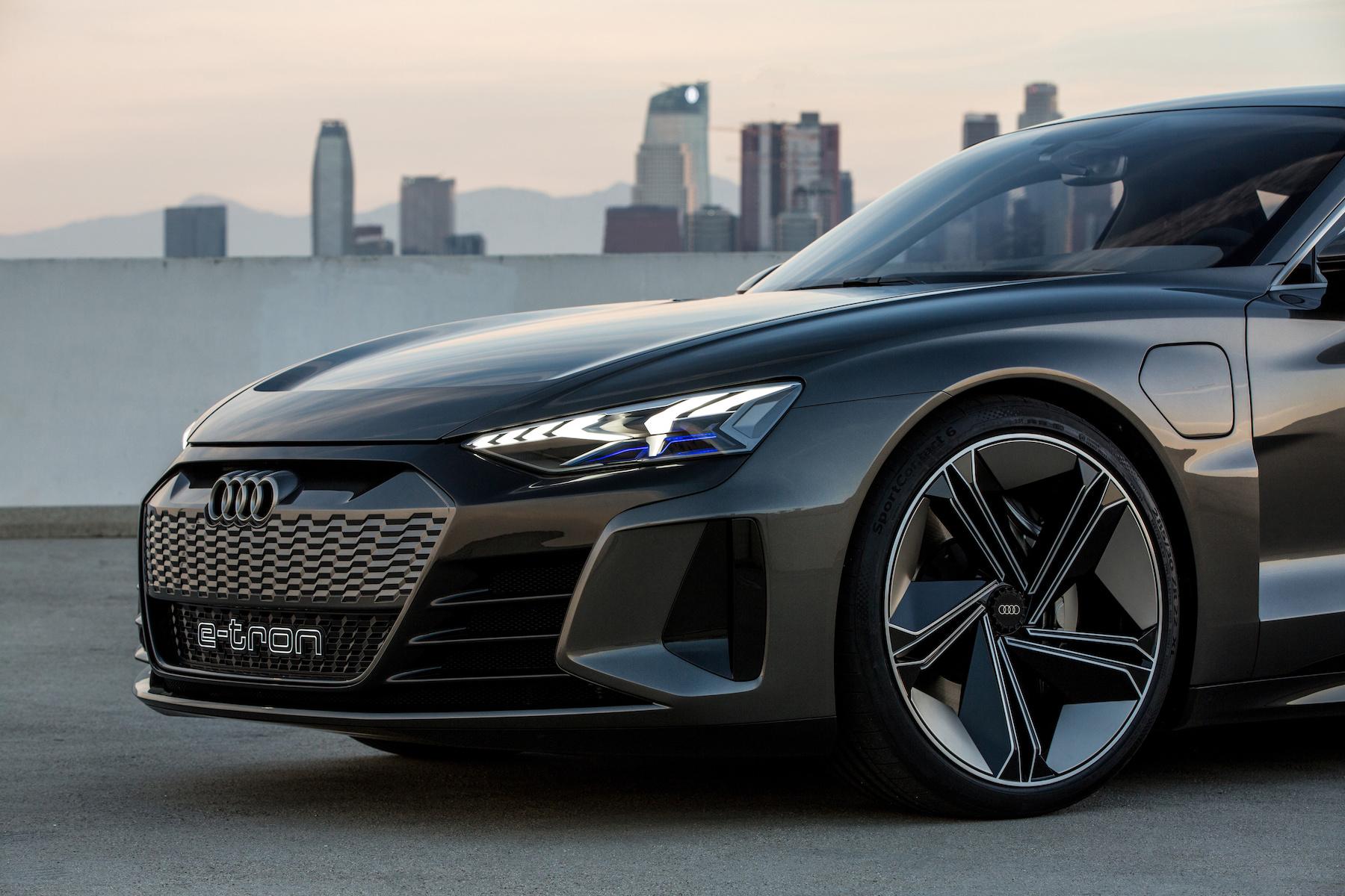 Der Audi e-tron GT gehört zum 2020-Line-Up. (AUDI)
