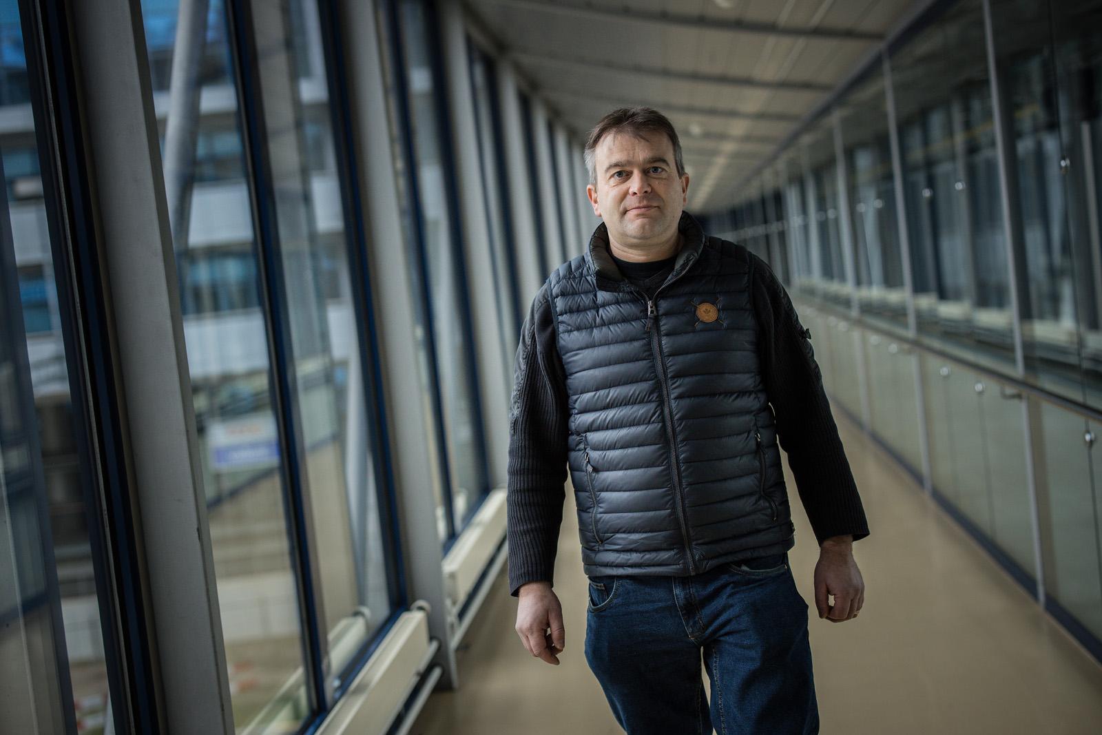 Aus Milchbauer Roland Aregger ist ein Windenergieprofi geworden.