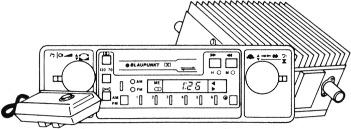 Blaupunkt Cr 3001 Nd 000 035 195 C