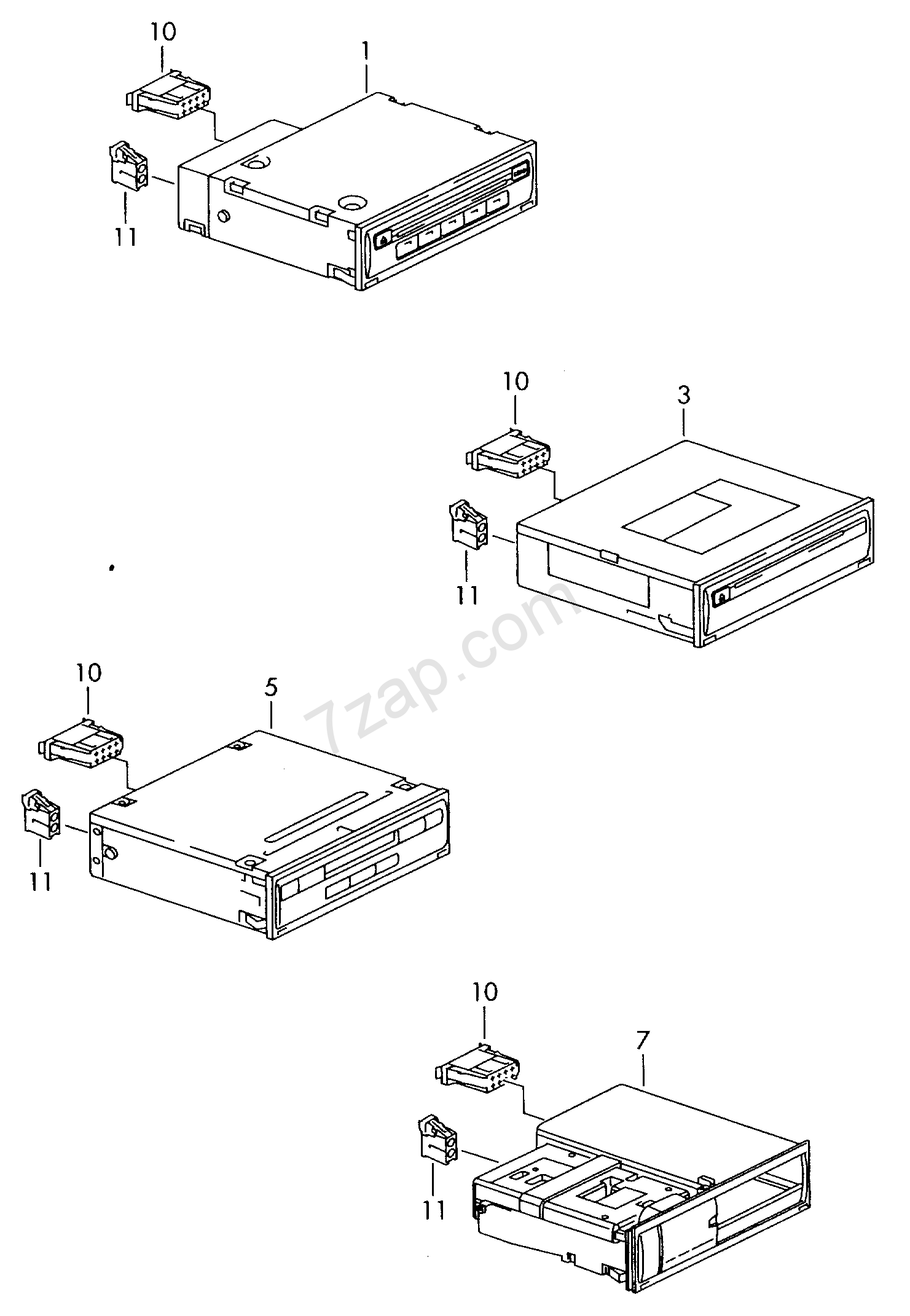 Cd Changers Connection For External Audio Source Audi