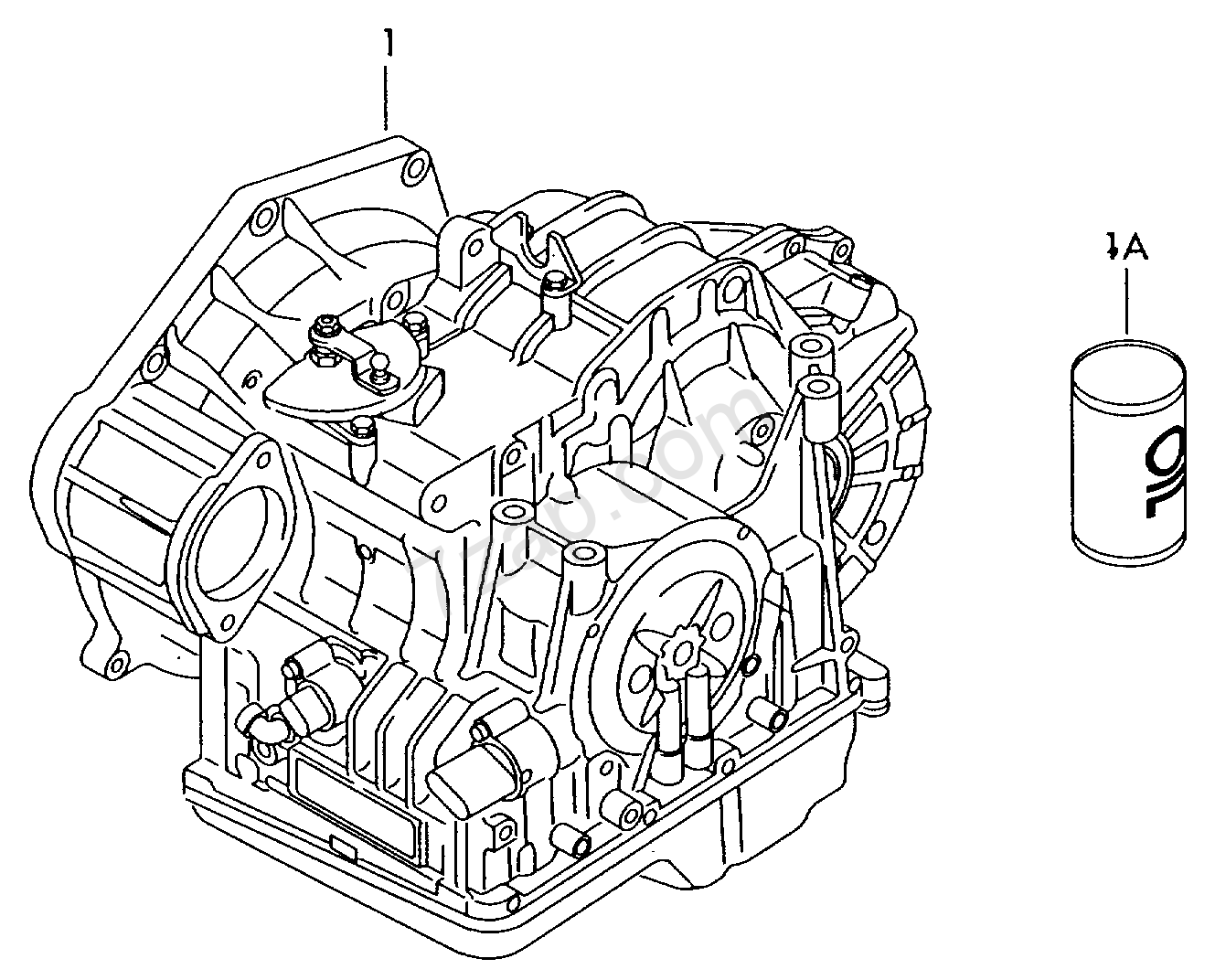 Audi A3 6 Speed Gearbox
