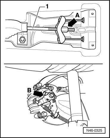 Audi Workshop Manuals > A1 > Brake system > Brake, brake