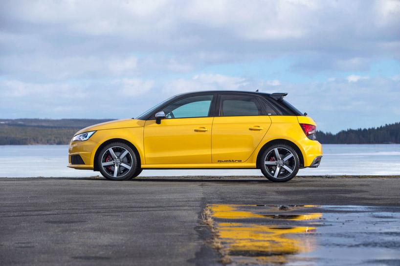 Automoto Teste La Citadine Press 233 E Audi S1 Quattro