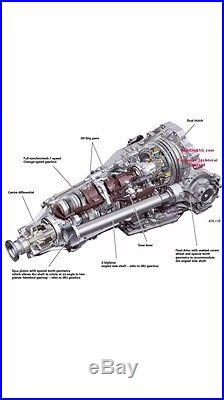 Audi A4 A6 A5 Q5 Cvt Multitronic Automatic Gearbox Repair
