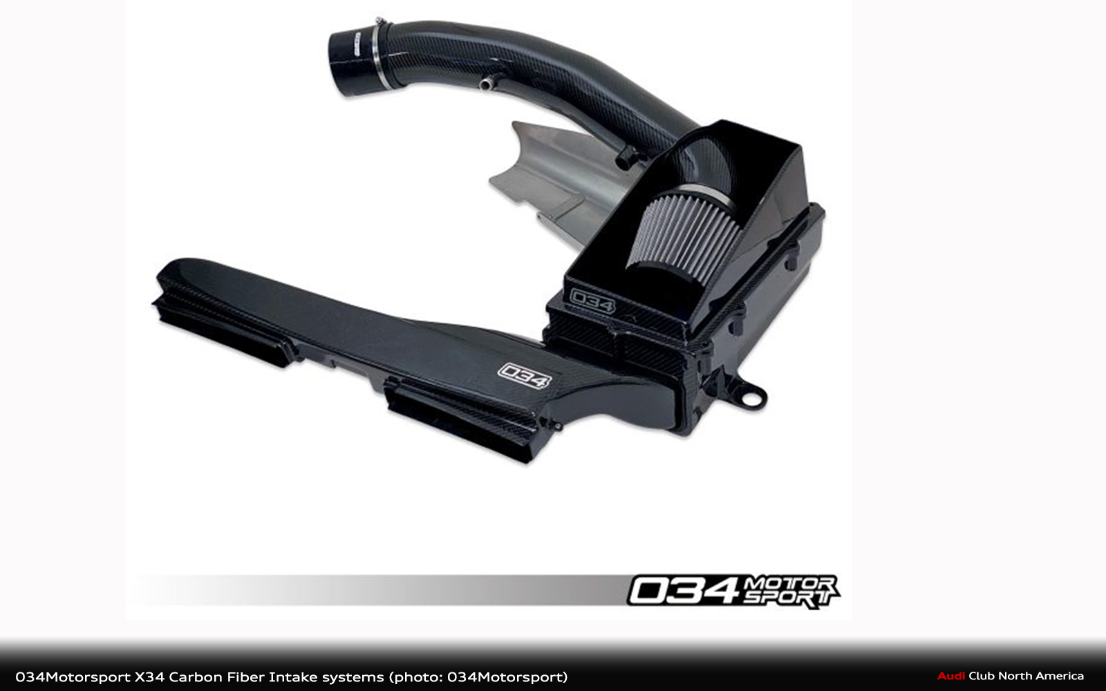 034Motorsport X34 Carbon Fiber Intake systems for the 2.5 TFSI EVO 8S Audi TTRS and 8V.5 Audi RS3