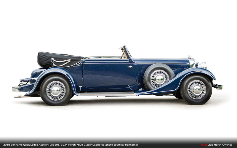1934 Horch 780B Cabriolet Headed to Bonhams Monterey Auction