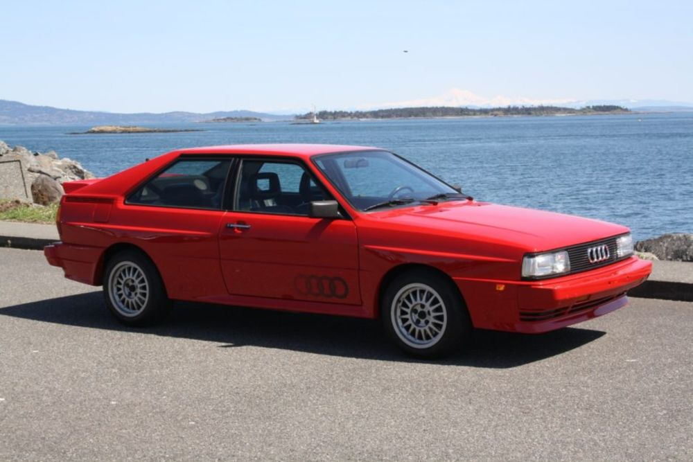 Find of the Day: 1985 Audi Ur-quattro on Bring A Trailer
