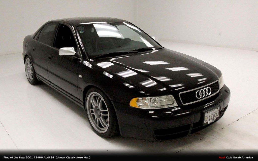 Find of the Day: 2001 724HP Audi S4