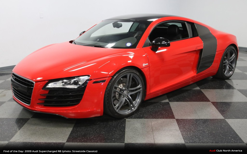 Find of the Day: 2009 Audi 4.2L Supercharged R8
