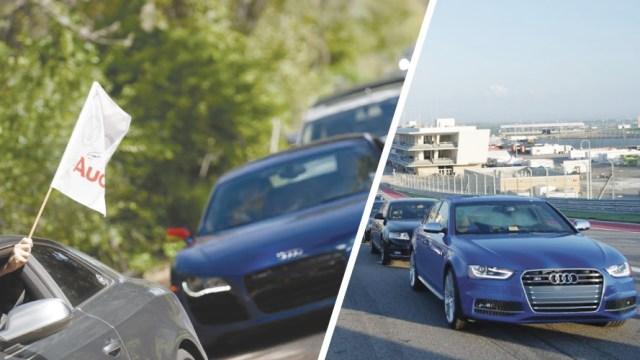 Invitation to Attend the Audi Sport Track Attack