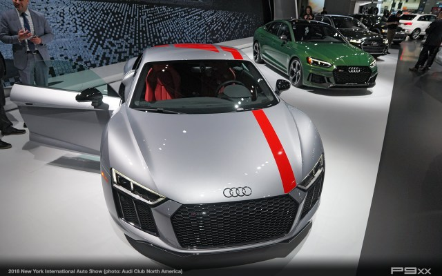 Audi at the 2018 New York International Auto Show