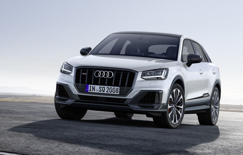 Audi SQ2 Image Revealed Ahead of Paris