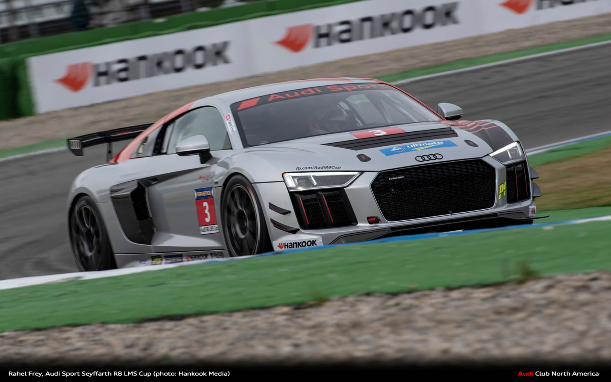 The Audi Sport Seyffahrt R8 LMS Cup Enters Its Second Season with Rahel Frey and the Hankook Race Tyre