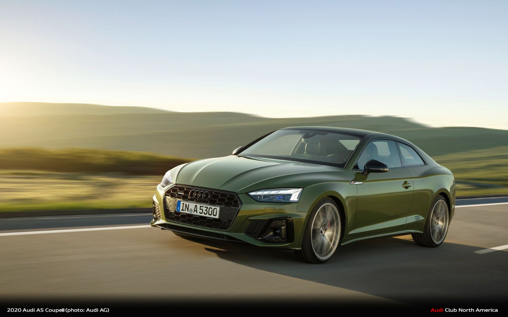 2020 Audi A5 Brings Refreshed Design And Innovative Technology To Model Line