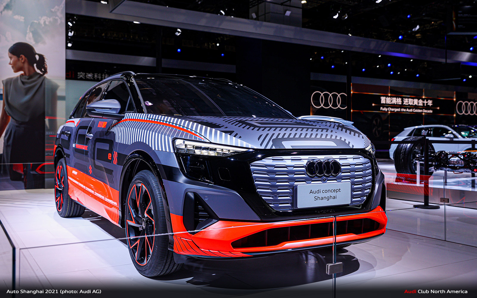Audi Hints at Even More of Its Electric Future at Shanghai Motor Show