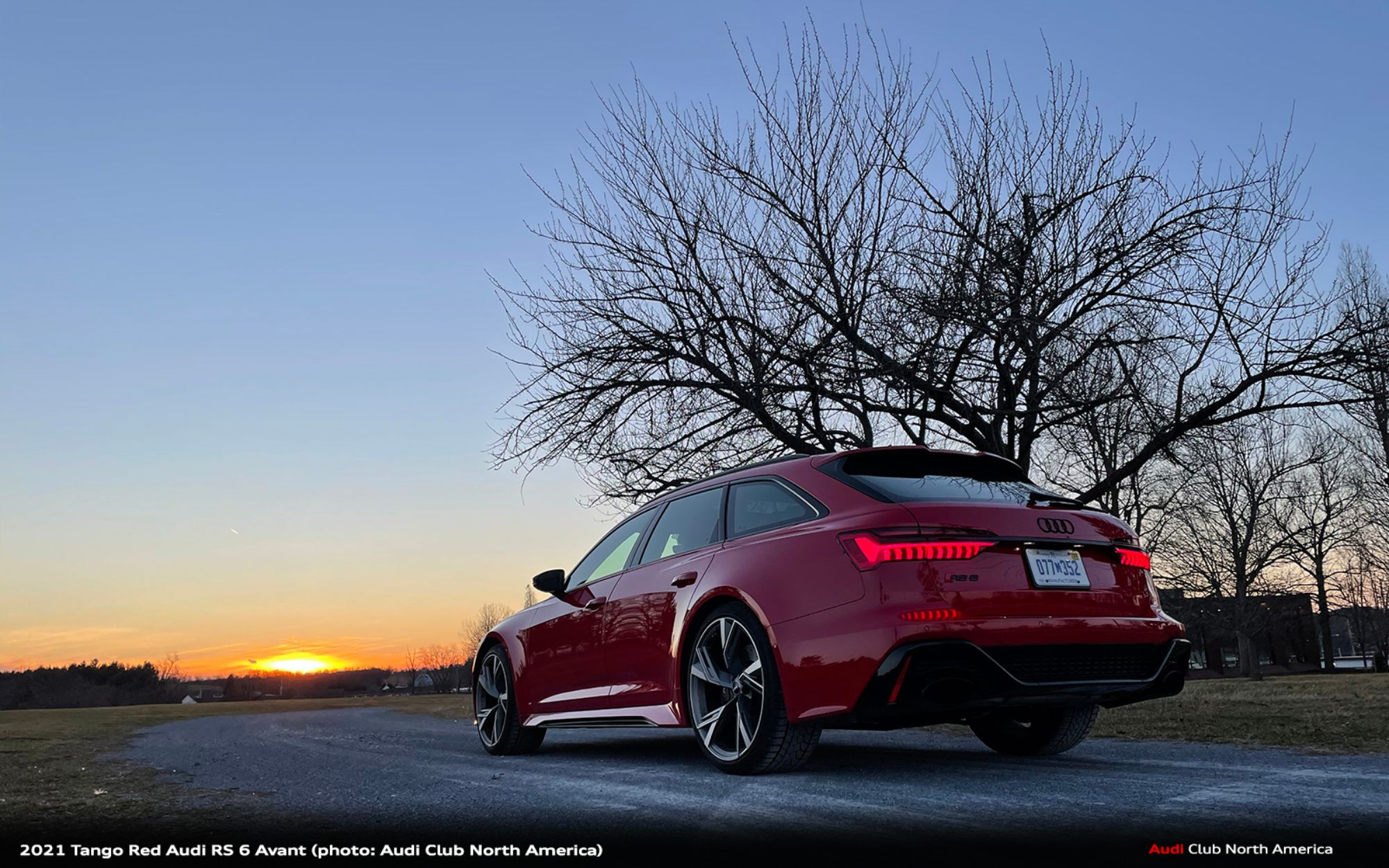 And the Winner of the Audi Club RS 6 Avant Sweepstakes is...