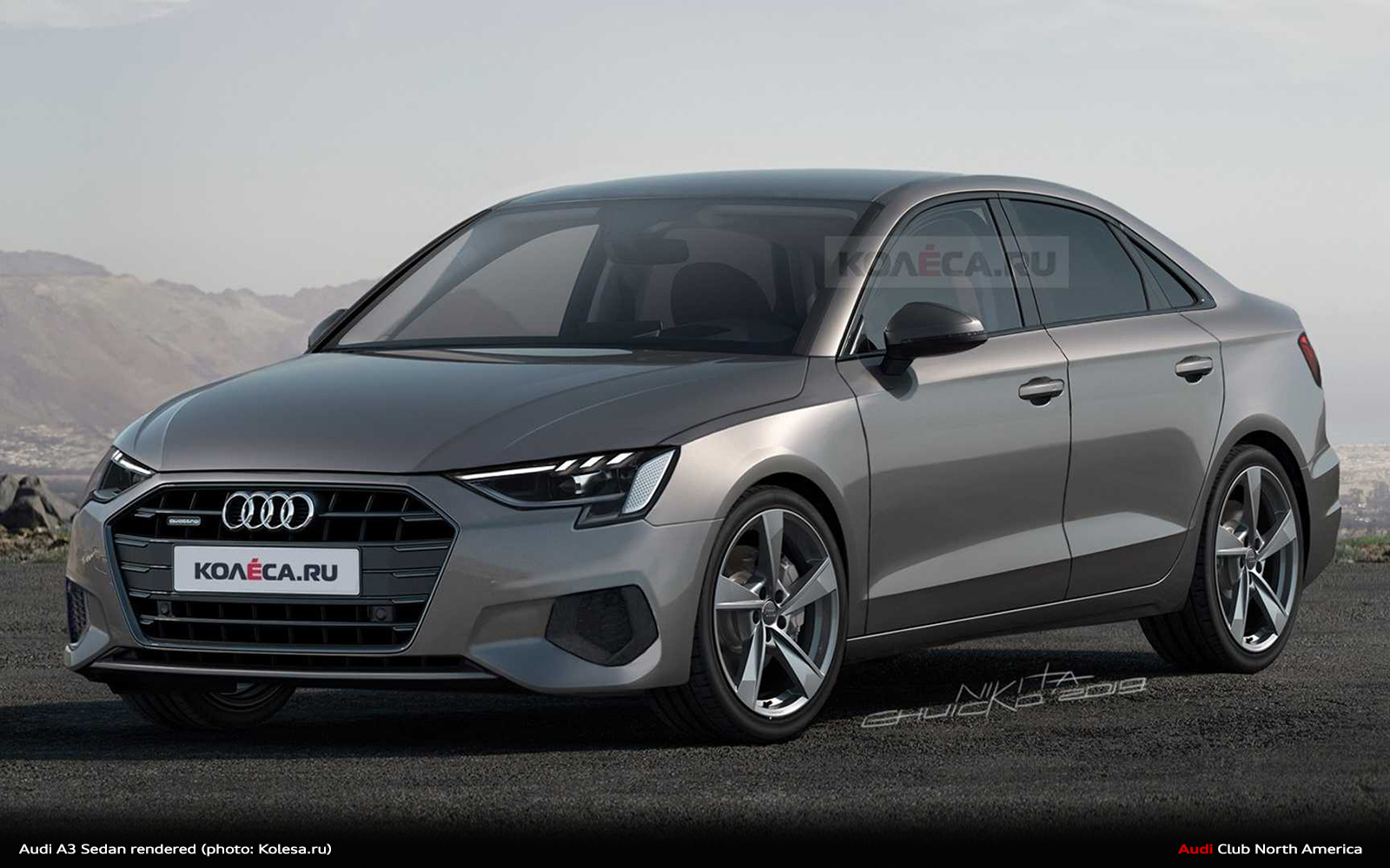 2021 Audi A3 Sedan Rendering 2 Copy Audi Club North America